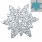 Metal Snowflake Christmas Wykrojniki DIY Scrapbooking Album Paper Card Decor
