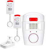 Wireless Security Infrared PIR Sensor Driveway Alarm Alert System Home Motion