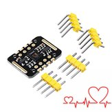 5Pcs MAX30102 Heartbeat Frequency Tester Heart Rate Sensor Module Puls Detection Blood Oxygen Concentration Te
