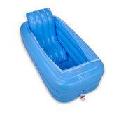 165x85x45cmバスタブインフレータブル浴槽ポータブル旅行風呂大人スパプール暖かいバスタブ折りたたみ