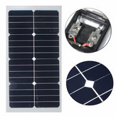 Elfeland® SS-20W 12V semi-flexibles Monosolarmodul mit Sunpower-Chip für Batterie-Ladeboote Cara