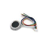 R502-A Pojemnościowy moduł czytnika linii papilarnych Skaner czujnikowy Mały cienki okrągły pierścień LED Sterowanie DC3.3V MX1.0-6pin