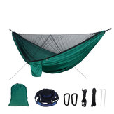 190T Polyester Camping Hamac Anti-UV Hamac Canopy Sun Shelter Beach Camping Voyage