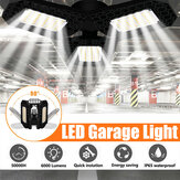40W E27 Deformabile 108LED Lampadina per garage Lampada pieghevole impermeabile Soffitto per officina Notte lampada 85-265V
