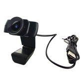 Webcam 1080P USB Video Gamer Camera PC Fuld HD Web Cam Indbygget mikrofon til Youtube Web Camera