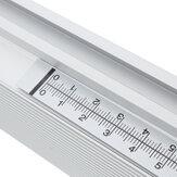 Wnew 0,6-2,5M de aço inoxidável autoadesivo métrica régua de esquadria fita métrica escala de serra de esquadria para mesa de roteador T-track Banda serra de mesa serra ferramentas de marcenaria