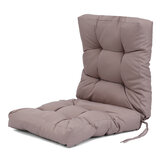 High Back Chair Cushion Waterproof Sofa Recliner Chair Cushion Seat Back Pad Tatami Mat for Office Home Patio Backyard Garden