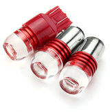 1156 1157 7443 3LED Car Rosso Turn Lights Bulb Coda freno strobo lampada Lampadina