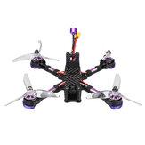 Eachine Wizard X220 V2 5 Inch 4S FPV Racing Drone PNP FOXEER Arrow Micro Pro Cam F405 DJI DUAL BEC V1 Controlador de vuelo 30A Blheli_S Sin escobillas ESC 2207 2550KV motor