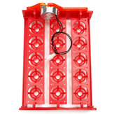 110/220V 15 Eggs Turner Automatic Chicken Quail Bird Poultry Egg Incubator Tray
