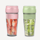 300ML Mini Portable Juice Blender USB Rechargeable Juicer Cup Vegetables Fruit Mixer For Outdoor Camping Travelling