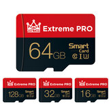 Extreme Pro High Speed 16GB 32GGB 64GB 128GB Class 10 TF Memory Card Flash Drive With Card Adapter For iPhone 12 Smartphone Tablet Switch Højttaler Drone Car DVR GPS Camera