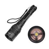 XANES®1330XHP50LED5trybów Zoom obrotowy Wodoodporna taktyczna latarka LED 18650