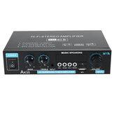 AK35 110V-240V bluetooth 5.0 sztereó erősítő USB vezeték nélküli zenei hangszórók