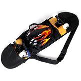 Skateboard cinghie dello zaino borsa per il trasporto zaino con maglia di 81 * 21 cm