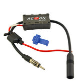 Vehicles Car Radio FM Antenna Signal Amplifier Booster
