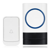 Smart Wireless Doorbell 45 Nummers Polyfone Ringtones 200m Transmissie Deurbel