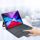 DUX DUCIS Wireless Bluetooth Touch Keyboard Smart Awake Sleep With Magnetic Full Body Protective Case For iPad Pro 12.9 (2020)