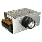 AC 220V 4000W SCR регулятор напряжения Диммер Электронный контроллер скорости мотора