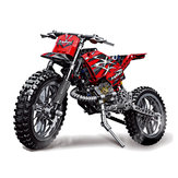 Decool Technic City Moto Cross Bike con Scatola Building Blocks Toys Bricks Classic Modello Kids Toy Regalo per bambini