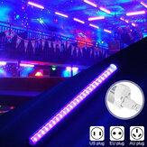 24LED UV Tira Tubo de Luz Ultravioleta Bar Clube Halloween Festa de Natal Luz Negra Lâmpada Portátil AC85-265V