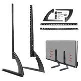 Universal Table Top TV Stand Legs para LED LCD Plasma TV de pantalla plana 26-65 pulgadas
