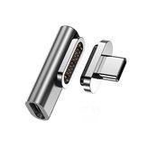 Bakeey Магнитный адаптер USB C 20 контактов Type C Коннектор USB PD 100 Вт Быстрая зарядка Конвертер данных 10 Гбит / с