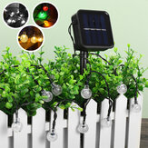 50/100 / 200LEDs Solar String Fairy Light Ball Lampe Garten Outdoor Wasserdichte Home Party Dekoration