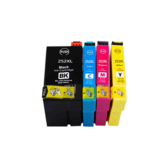 ZSMC 252XL Replacement High Yield Ink Cartridge for Epson WorkForce WF-3620 WF-3640 WF-7110 WF-7610 WF-7620 Printer