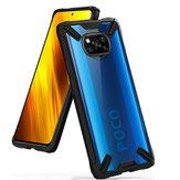 Bakeey для POCO X3 NFC Чехол с бамперами Противоударный Прозрачный акриловый защитный с защитой от отпечатков пальцев Чехол Неоригинальный