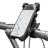 OBSHI Bicicleta Motocicleta Motocicleta Guidão de bicicleta elétrica Suporte do telefone Suporte para telefone Rotação de 360 graus para 4,0-6,5 polegadas Telefone inteligente