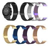 Bakeey Universal 22mm Mesh Steel Watch Band dla Amazfit Huawei Fossil Garmin Ticwatch Xiaomi Color Smart Watch Nieoryginalny