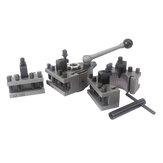 Conjunto de suporte de coluna de ferramenta de torno Machifit Aa Eb de troca rápida WM210V & WM180V e 0618 12x12mm Descanso de ferramenta para balanço sobre cama 120-220mm