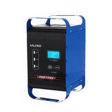 ANJING 12V / 24V 400W automatyczna ładowarka akumulatorów naprawa impulsu mocy mokre suche akumulatory kwasowo-ołowiowe cyfrowy wyświetlacz LCD do motocykla samochodowego