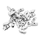 Machifit 30pcs M4 Hammer Nut Aluminum Connector T Fastener Sliding Nut