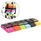 إيبري™185x5CMتعديلحقيبةالأمتعة حزام الأمتعة السفر التعادل أسفل حزام قفل