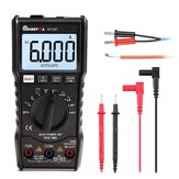 MUSTOOL MT108T Blokgolfuitgang True RMS NCV Temperatuurtester Digitale multimeter 6000 telt achtergrondverlichting