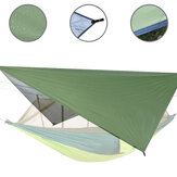 IPRee® 122x122inch Outdoor Patio Awning Waterproof Tent Tarp Camping Picnic Multifunction Sunshade Cover