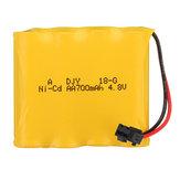 4.8V 700mAh 4S Ni-Cd Battery SM Plug for 23211 1/20 2.4G Rc Car Parts