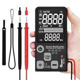 Upgrade MUSTOOL MT99 True RMS 9999 Counts Digitalmultimeter Ultra-Large EBTN LCD Bildschirm 3-zeiliges Display Vollautomatisch Smart DMM