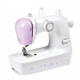 Mini Desktop Portable Electric Sewing Machine 12 Stitches Household DIY Clothes