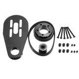 DIY Parts Kit Pulleys And Motor Mount For 72/70MM Wheels  Electric Scooter