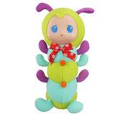 Caterpillar knuffelbed playmate korte knuffel Gift Decor collectie