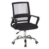 Ofis Hasır Sandalye Ergonomik Döner Orta Geri Bilgisayar Masası Koltuk Metal Taban Ayarlanabilir Kaldırma Koltuğu Ev Ofis Mobilyaları