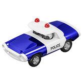 La police en alliage tire le jouet de modèle de voiture moulé sous pression pour la décoration de la maison de Collection de cadeaux