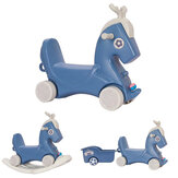 3 in 1 Kids Rocking Horse Ride-On Singing Rolling Riding Toy Car