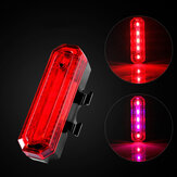 XANES TL17 Sepeda Sepeda USB Peringatan Tail Light Waterproof Cycling Scooter Motor E-bike Tailligh
