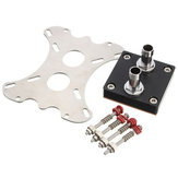 50mm Copper Base CPU Water Cooling Block Waterblock G1/4 Tópico para Intel AMD Xeon