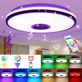 ARILUX 30W 220V 33cm Modern Dimmable LED Ceiling Lamp RGBW WiFi Bluetooth Music Smart Ceiling Light APP+Remote Control