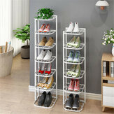 5/8 Layers Iron Shoes Shelf Rack Organizer Stand Home Office Storage Holder